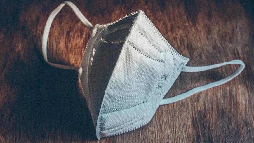 FFP2-Schutzmaske gegen Coronavirus - Foto: Antonio Cansino, Pixabay