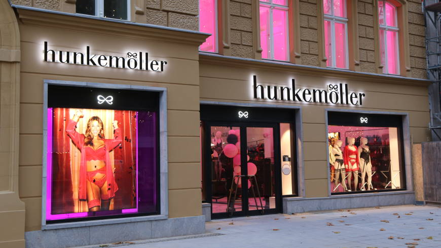 Flagship-Store von hunkemöller am Kurfürstendamm 13-15 in 10719 Berlin - Foto: m/s