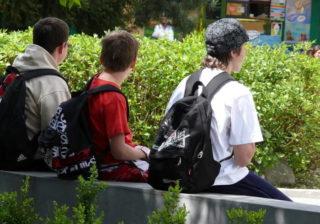 Jugendliche vor der Jobsuche
