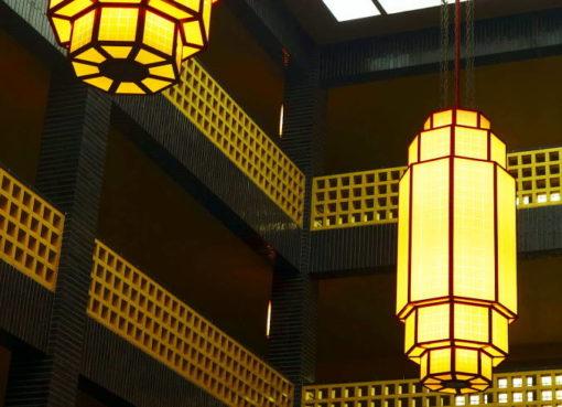 Leuchten im Haus des Rundfunks