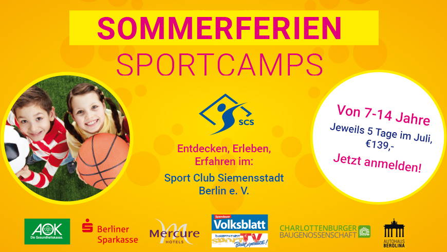Sommerferien Sportcamps im Juni 2021